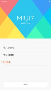 MIUI V7 Xiaomi Redmi Pro