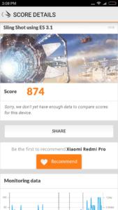 Xiaomi Redmi Pro 3DMark 1 169x300