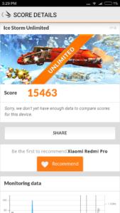Xiaomi Redmi Pro 3DMark 4 169x300