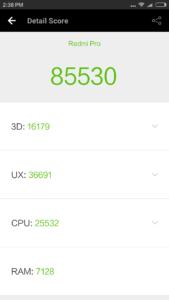 Xiaomi Redmi Pro Antutu 169x300