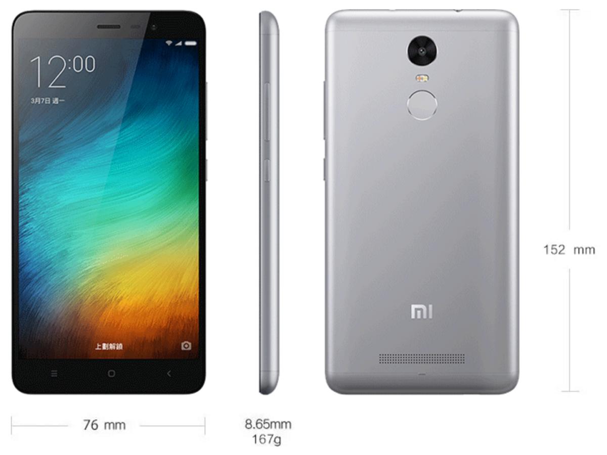 Xiaomi Redmi Note 3 Pro Special Edition 1200x900