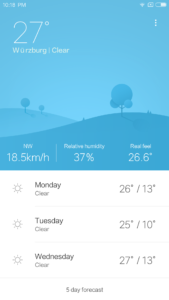Wetter App 169x300