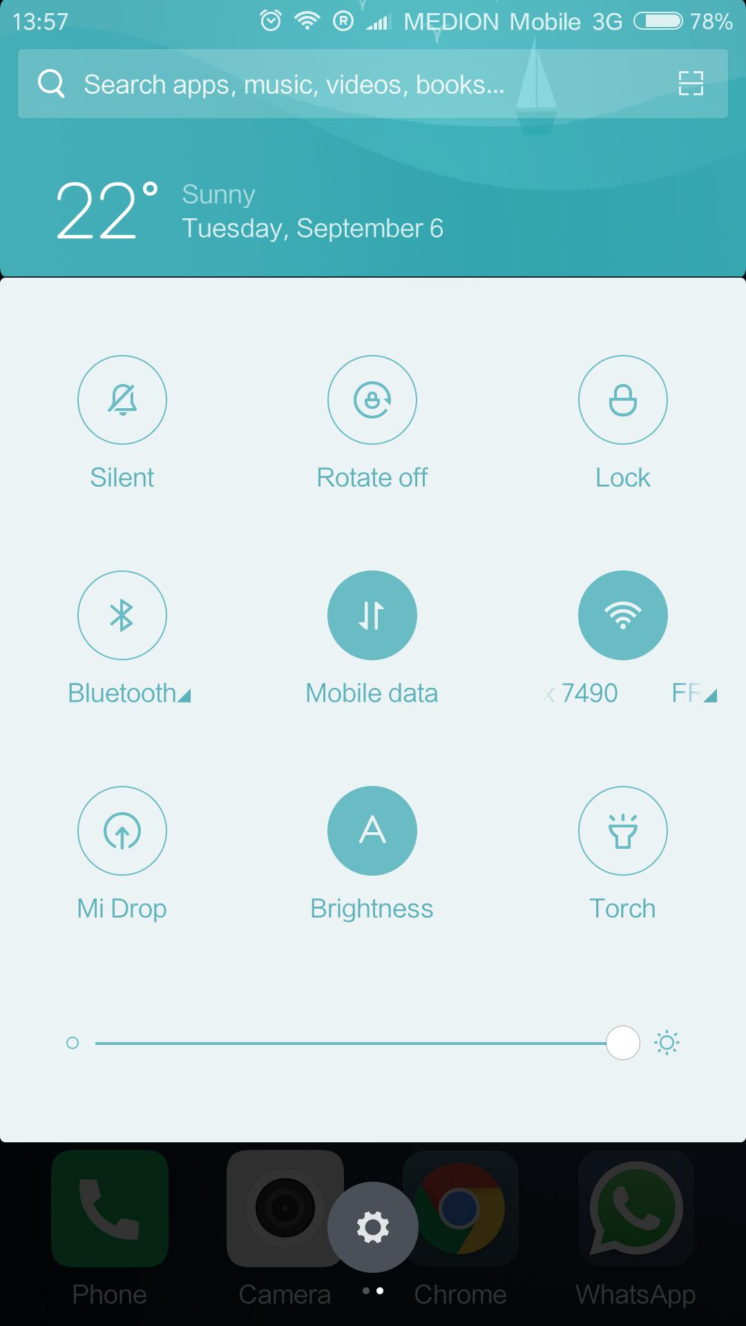 Xiaomi Redmi Note 4 MIUI Betriebssystem (2)