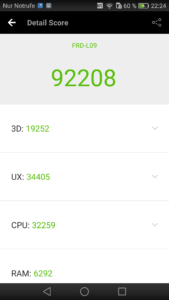 Huawei Honor 8 Antutu Benchmark 92208 169x300