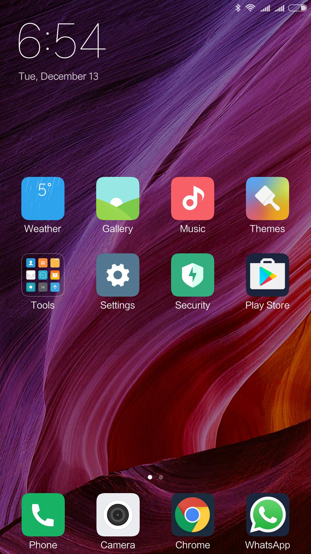 Xiaomi Mi Mix System MIUI 2