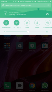 Xiaomi Mi Mix System MIUI 3