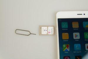 Xiaomi Mi5s Plus Sim Karten Nano 300x200