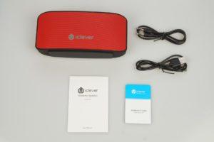 iClever BTS07 Bluetooth Lautsprecher Lieferumfang Test