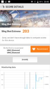 Umi Diamond 3DMark Slingshot