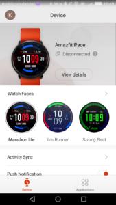 Xiaomi Amazfit Huami Smartwatch App 2