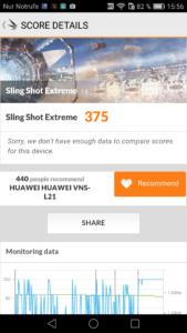 Huawei P9 Lite 3D Mark Slingshot