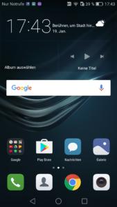 Huawei P9 Lite EMUI UI 3 169x300