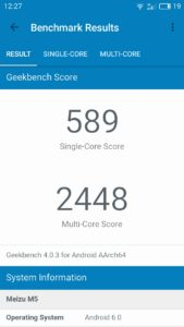 Meizu M5 Geekbench 4 169x300