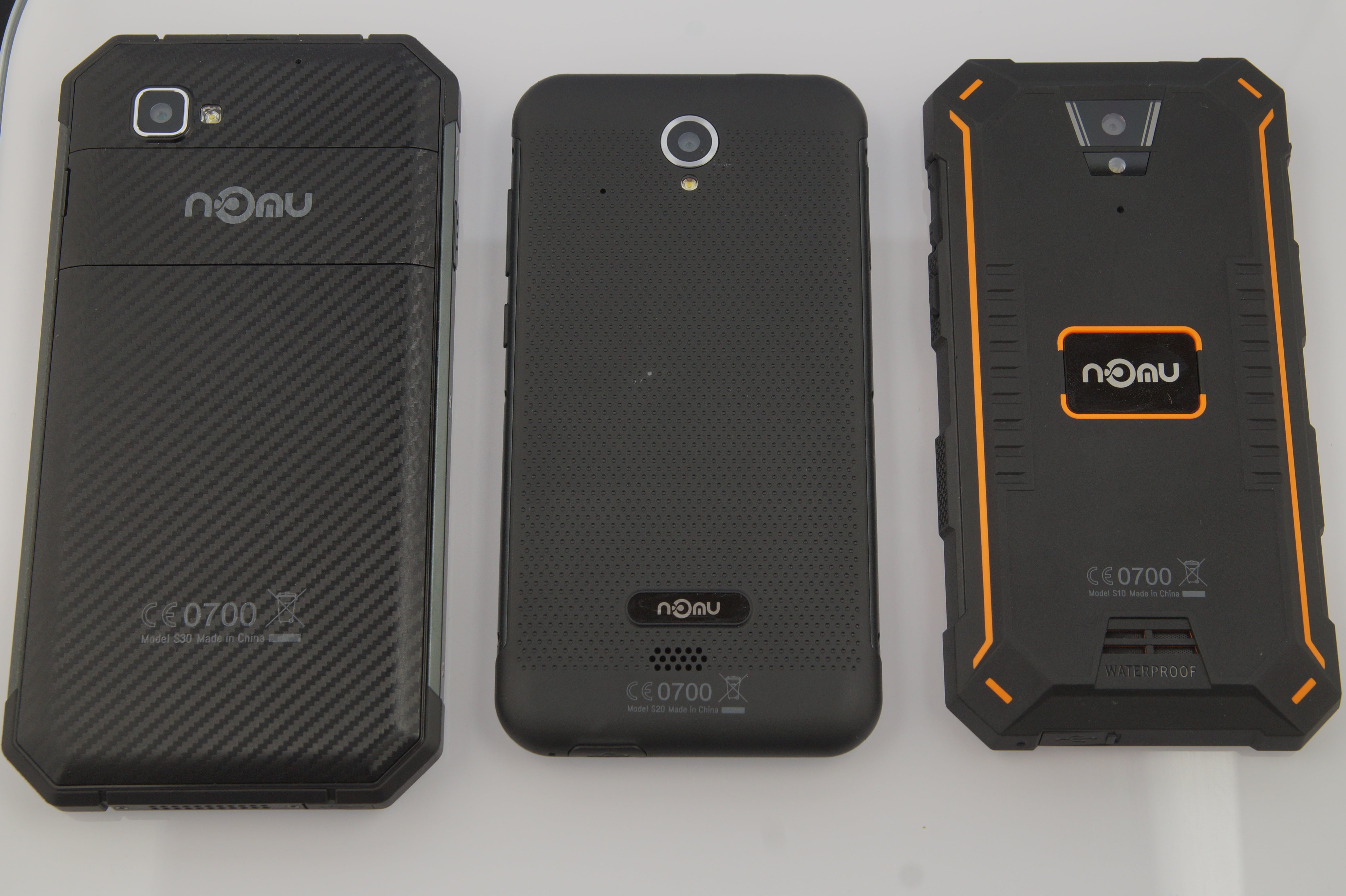 Nomu S10, S20 and S30