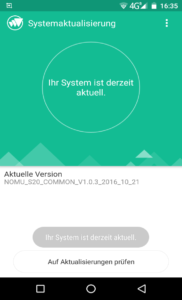 Nomu S20 Android System Stock 3