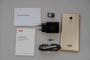 Lenovo p2 Lieferumfang 300x200