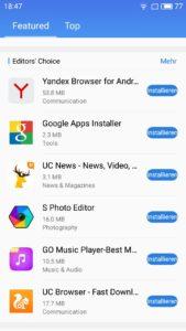 Meizu M5 Google Installer 2