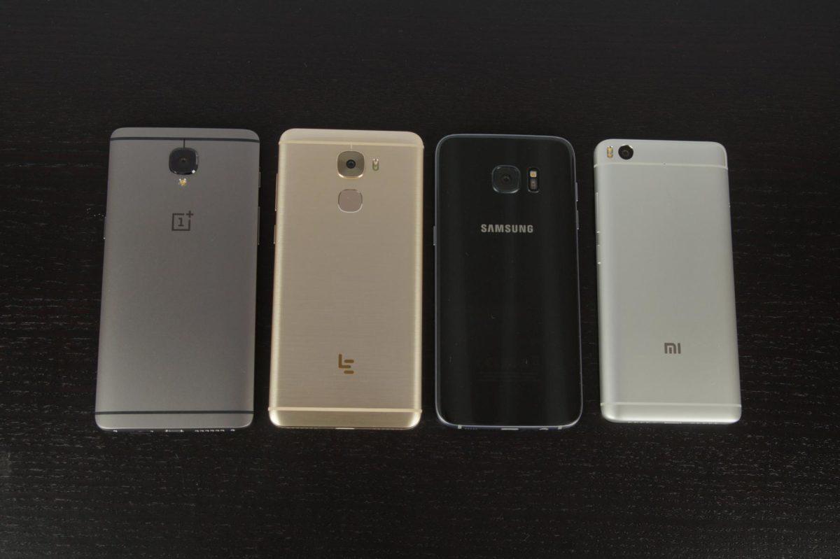 S7 Edge Mi5s Oneplus 3T Le Pro 3 2