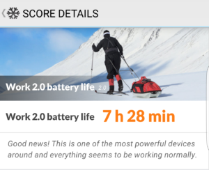 Samsung Galaxy S7 Edge Akkulaufzeit