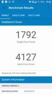UMI Z Geekbench1
