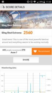 ZTE Axon 7 3D Mark Slingshot Extreme
