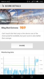 Huawei P9 3D mark