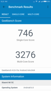 Geekbench 4 Mi5c 2
