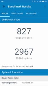 Xiaomi Redmi Note 4X Geekbench 4 1 169x300