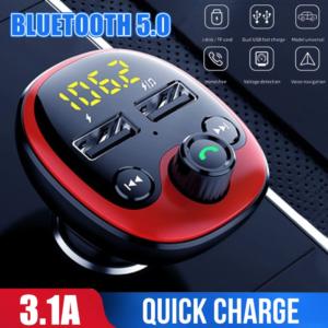 Auto Bluetooth FM Transmitter