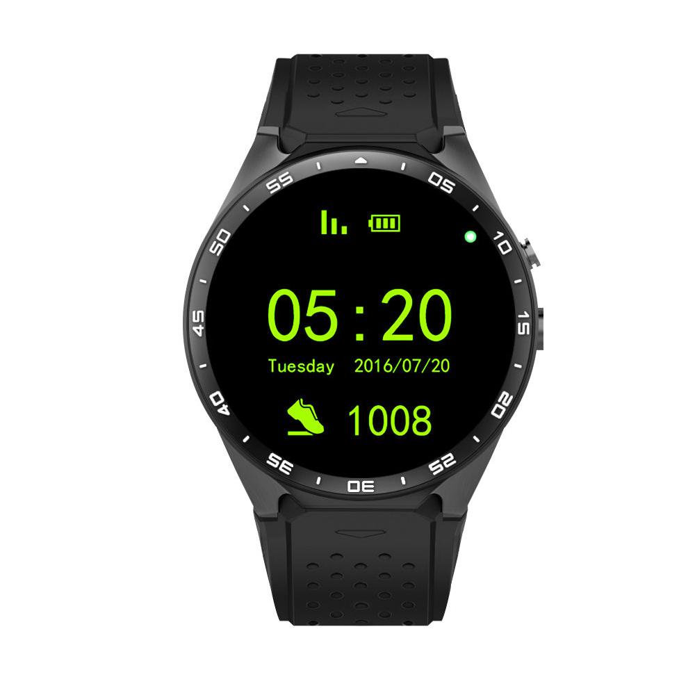 kingwear kw88 testbericht smartwatch mit android 5 1. Black Bedroom Furniture Sets. Home Design Ideas