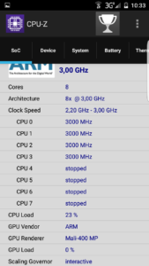 S7 Edge Fake CPU