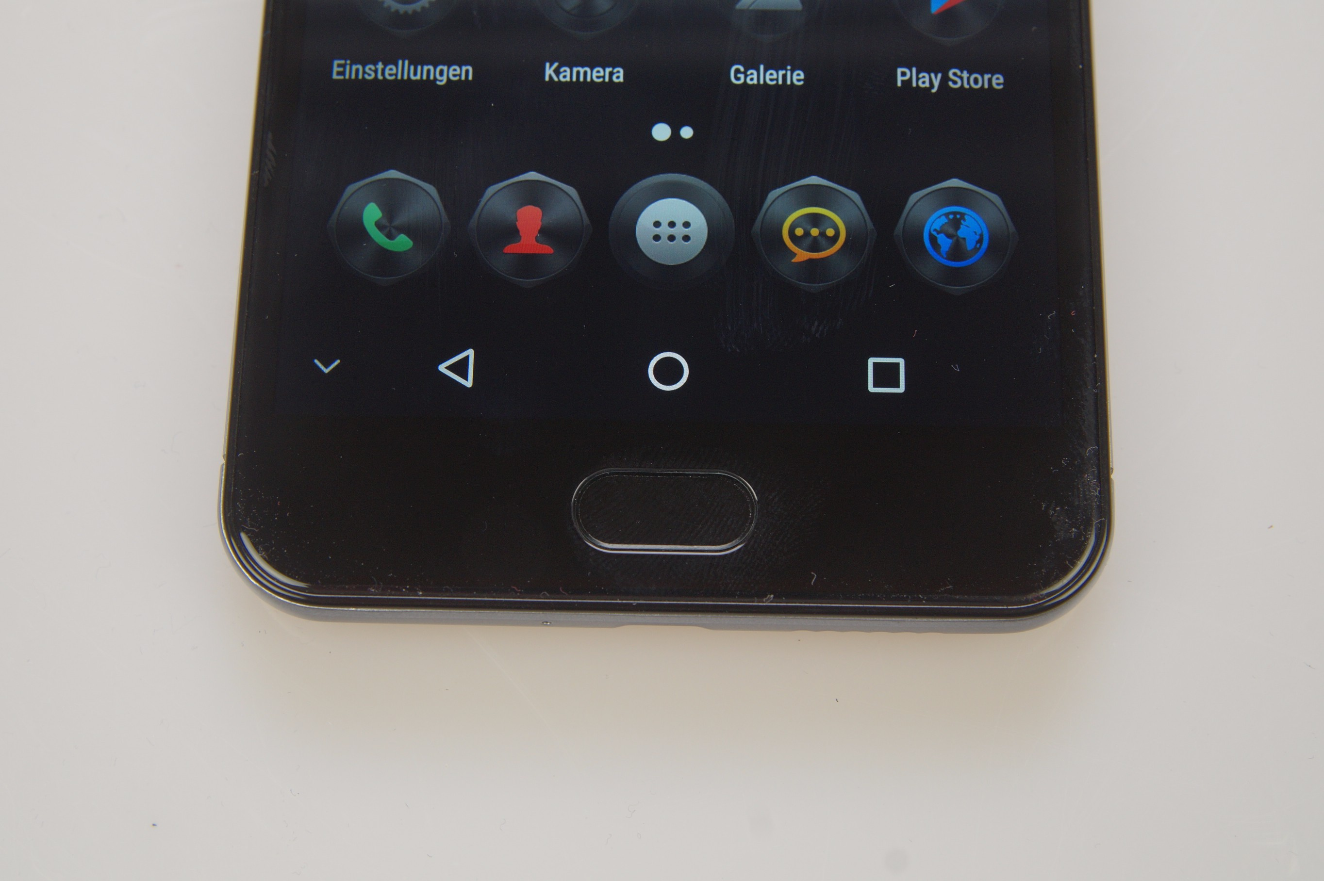 Ulefone Power 2 Fingerabdruckscanner