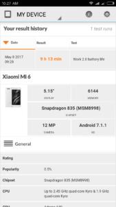 Xiaomi Mi6 AKkutest 1