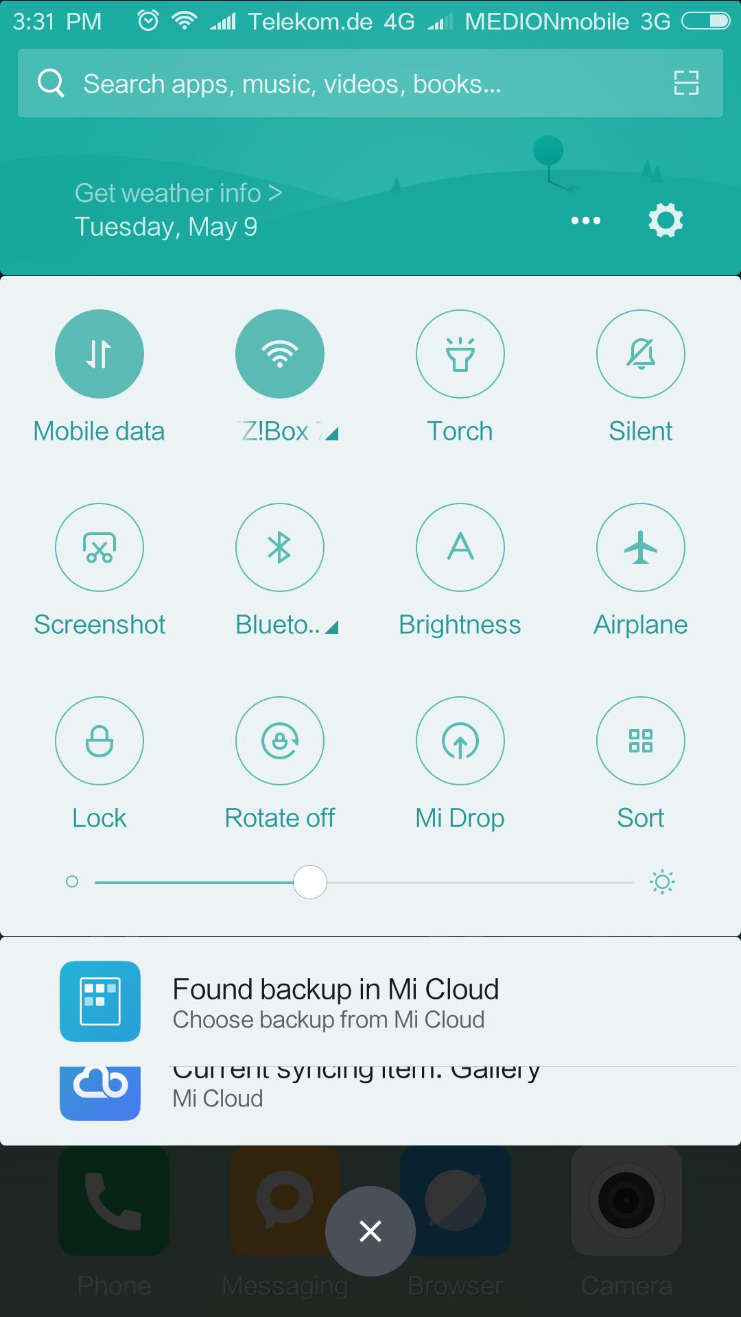 Xiaomi Mi6 System MIUI Android 7 1