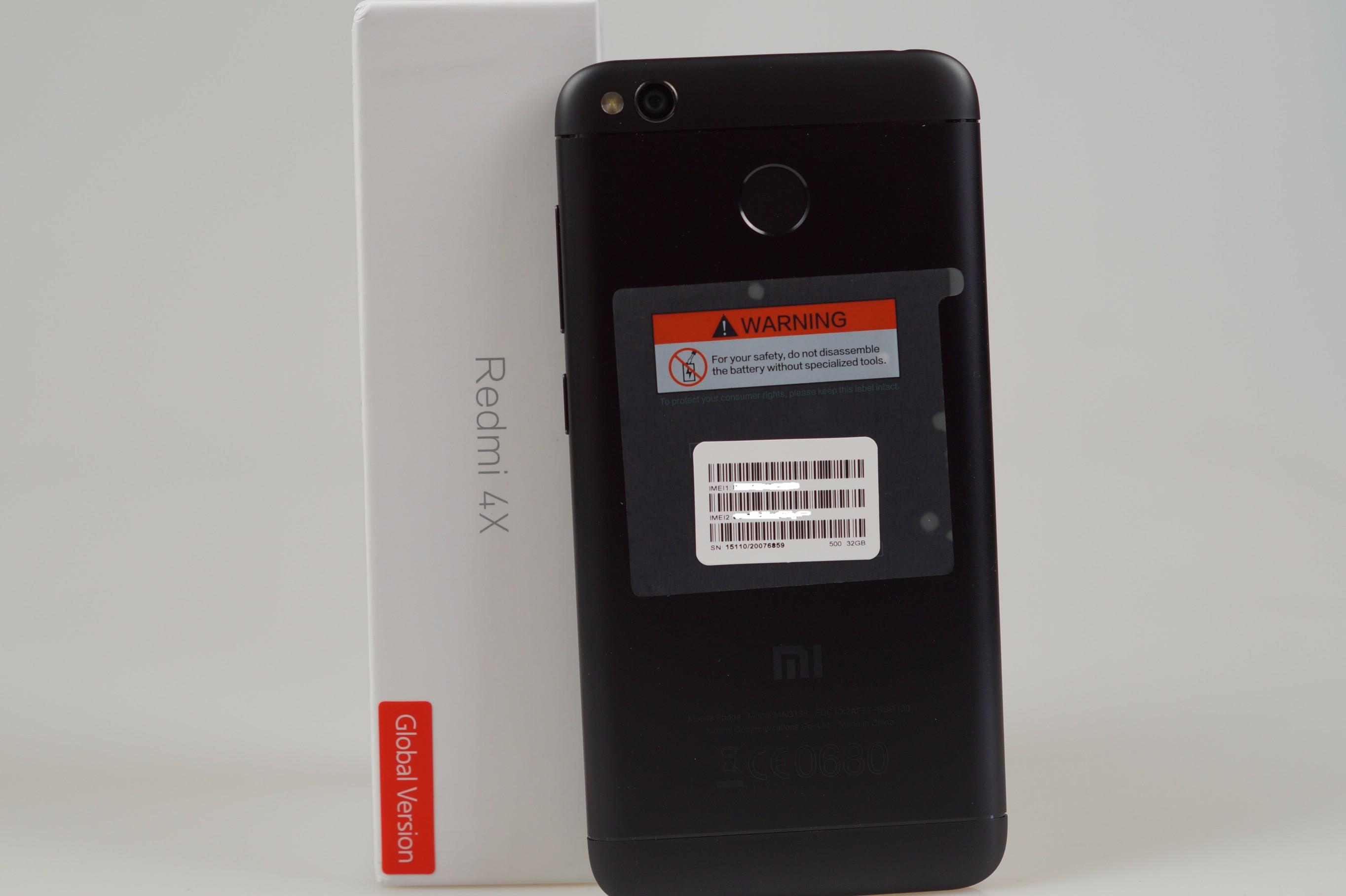 Xiaomi Redmi 4X Global con Banda 20 LTE