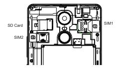 Zopo Color X5.5 Simslot