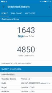Le Pro 3 AI Geekbench 4 169x300