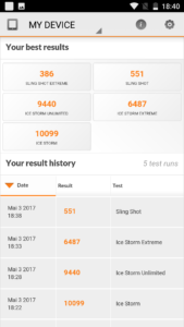 Oukitel K6000Plus Benchmark 3