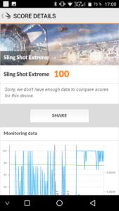 Umidigi G Sling Shot Extreme 3D Mark