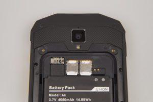 AGM A8 Empfang