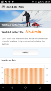 Doogee Mix Battery Test