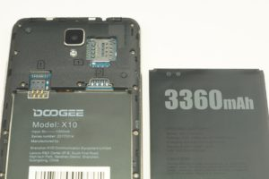 Doogee X10 2