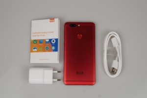 Elephone P8 Mini Lieferumfang