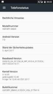 Hafury Umax System Android 7 5 169x300