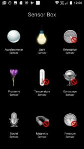 Oukitel K10000 Sensor Box