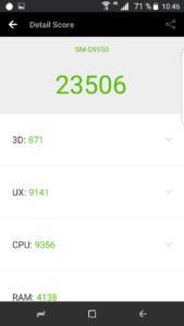 Samsung Galaxy S8 Clone Antutu Benchmark