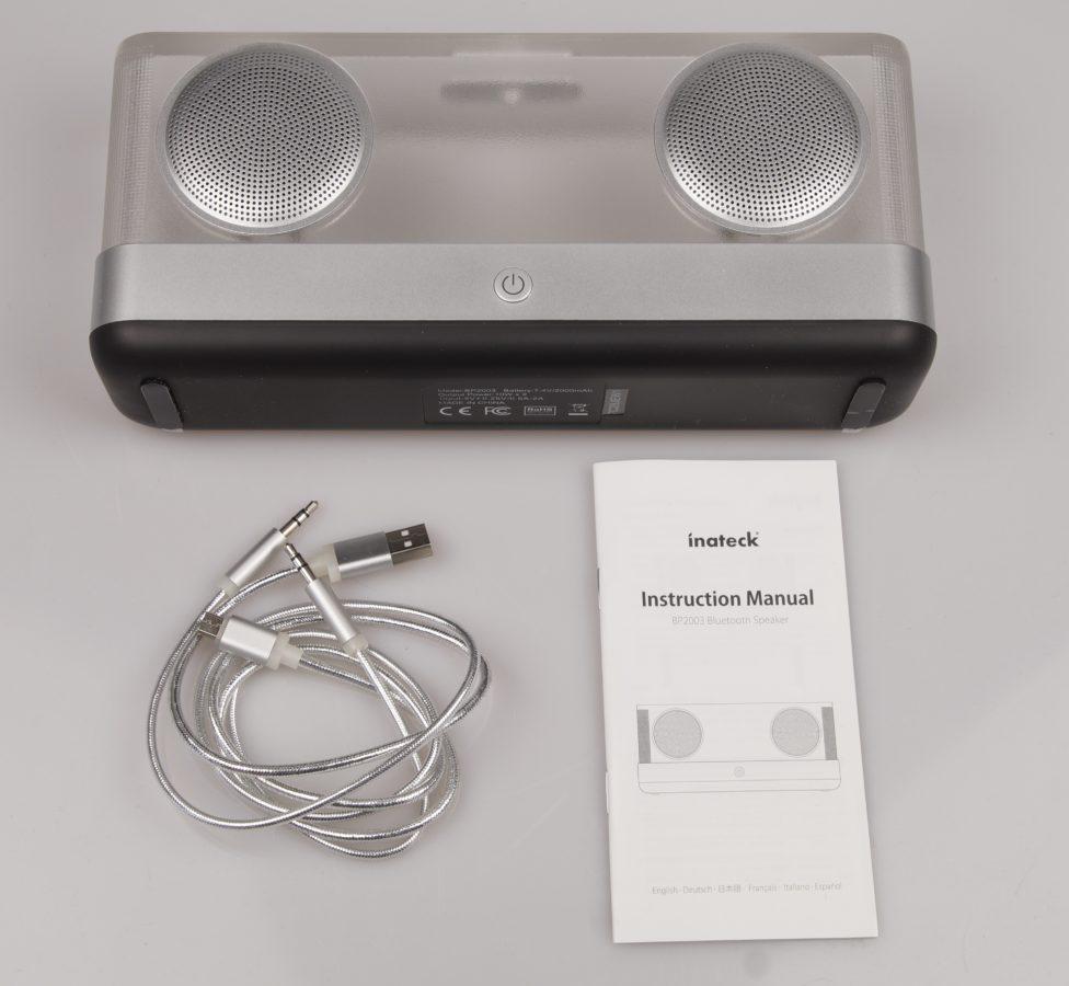 nateck Bluetooth Box - Lieferumfang