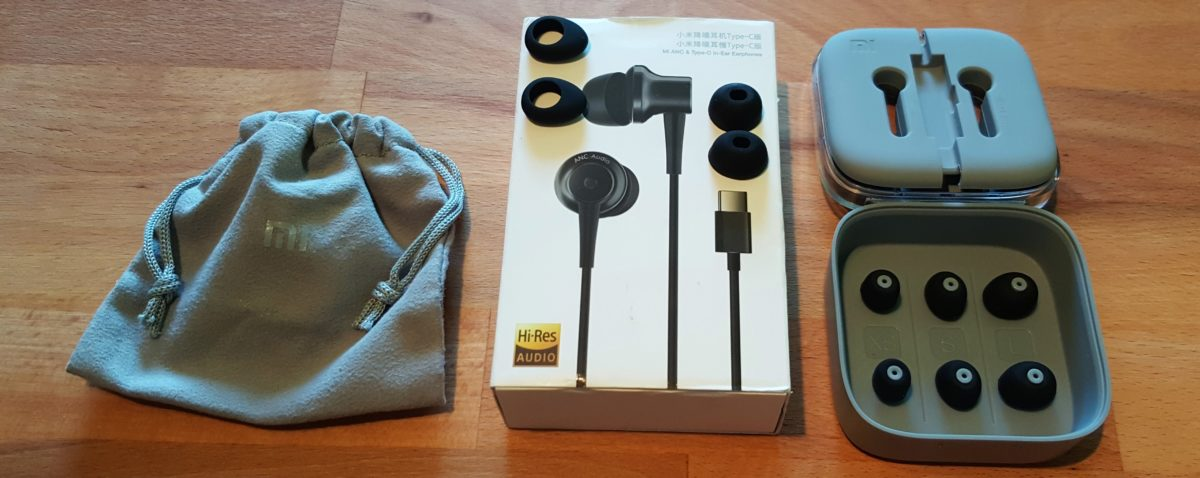 Xiaomi In Ear USB C Lieferumfang 1200x478