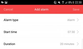 Xiaomi Network Speaker Alarm 336x200