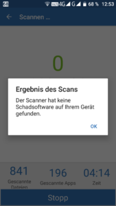 Blackview BV8000 Pro Virus Spam